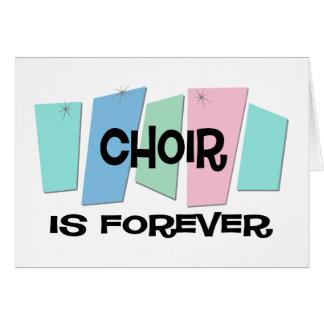 El coro es Forever Tarjetas