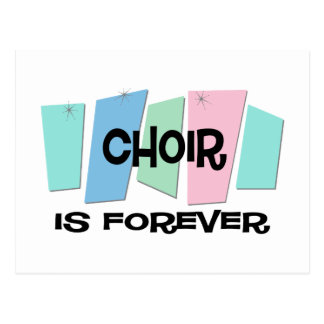 El coro es Forever Postales