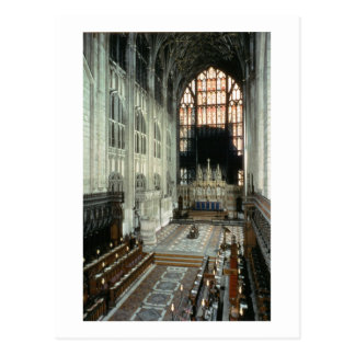 El coro y la ventana del este, siglo XII (foto) Tarjetas Postales
