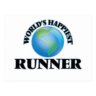 El corredor más feliz del mundo postal
