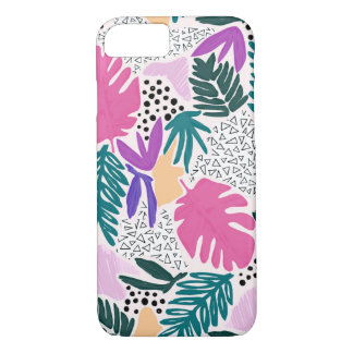 El corte forma la cubierta tropical del teléfono funda iPhone 7