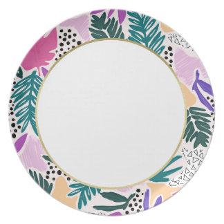El corte forma la placa tropical de la banda plato