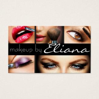 El Cosmetologist del artista de maquillaje clava Tarjeta De Negocios