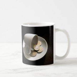 El coste de café taza de café