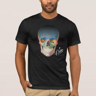 El cráneo anterior del Netter en una camiseta
