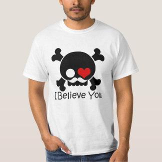 El cráneo I le cree juntar la camiseta de los