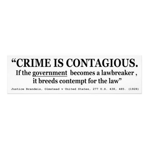 El crimen es Olmstead contagioso v Estados Unidos Impresiones Fotográficas