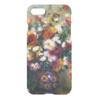 El crisantemo florece la bella arte de Renoir Funda Para iPhone 7