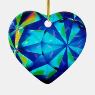 El cristal abstracto refleja al payaso adornos