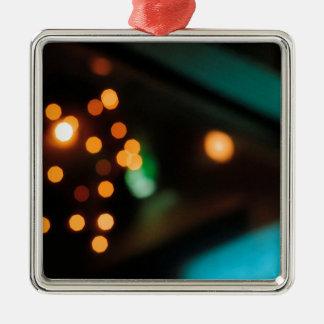 El cristal abstracto refleja comida campestre adorno para reyes