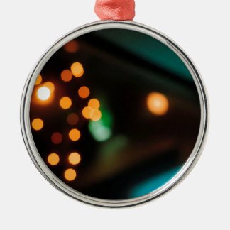 El cristal abstracto refleja comida campestre adorno