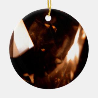 El cristal abstracto refleja el triángulo ornaments para arbol de navidad