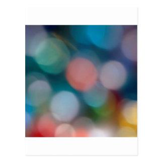 El cristal abstracto refleja esperanza tarjetas postales