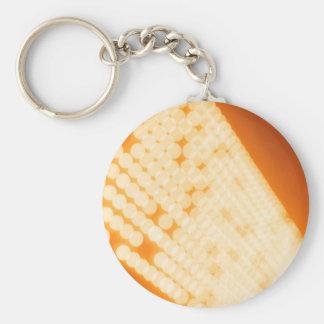 El cristal abstracto refleja polca llavero personalizado