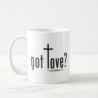 "Taza De Café El cristiano ""consiguió amor?"" Taza"