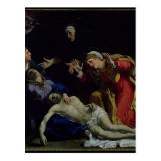 El Cristo muerto estado de luto, c.1604 Postal