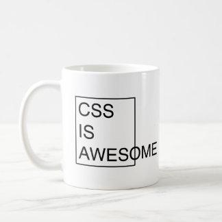 El CSS ES taza IMPRESIONANTE