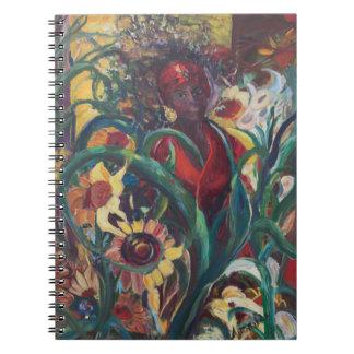 El cuaderno de la mujer del girasol