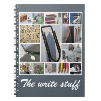 El cuaderno del escritor