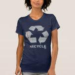 El cuaderno recicla camiseta