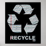 El cuaderno recicla el poster