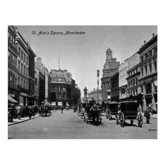 El cuadrado de St Ann, Manchester, c.1910 Postal