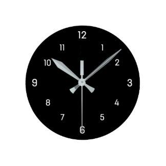 El cuadrado marca simplemente el reloj de pared