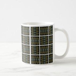 El cuadrado tejó la taza