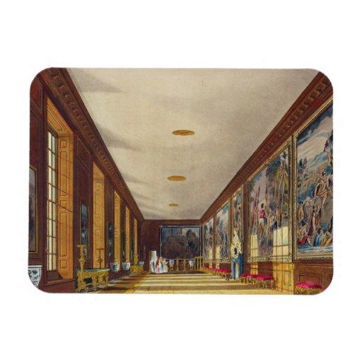 El cuarto de bola, Hampton Court, 'de la historia  Iman