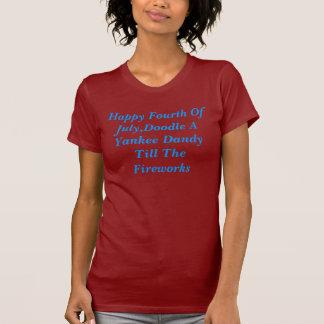El cuarto feliz de julio, Doodle a un chulo del Camiseta