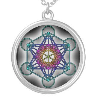 El cubo 1 de Metratron - collar sagrado de la geom