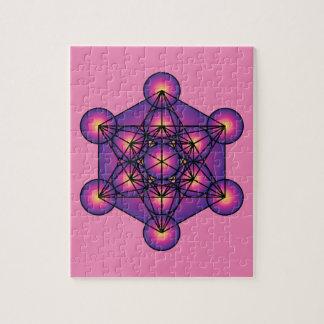El cubo de Metatron Puzzle