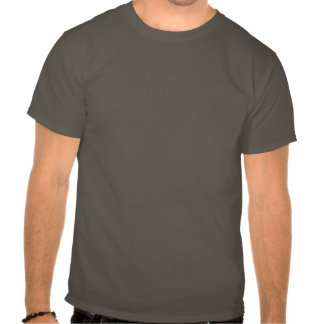 El cuchillo articula la camiseta del dibujo animad
