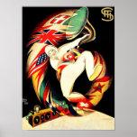 El cuerno del hombre del vintage señala arte itali