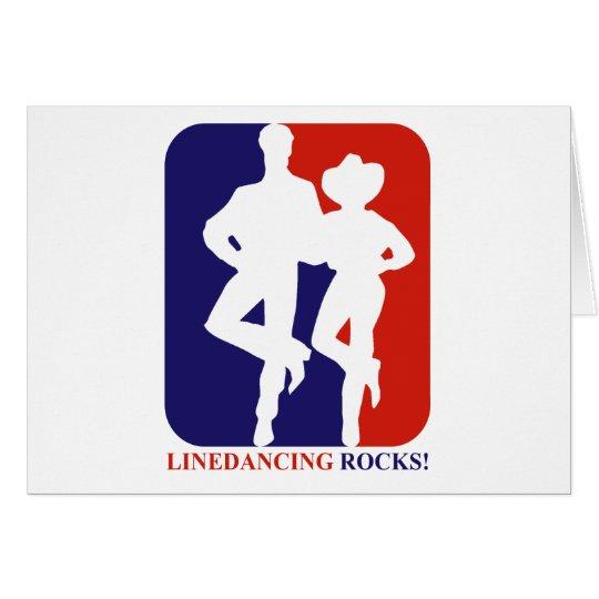 El cuerpo de baile oscila diseños tarjeta de felicitación