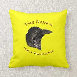 El cuervo cojines