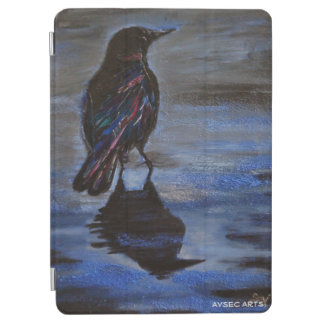 """El """"cuervo colorea"""" el aire de Ipad y la cubierta"""
