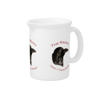El cuervo jarras para bebida