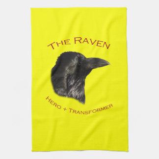 El cuervo toallas de mano