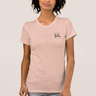 El cuidado de animales de compañía y el logotipo camisetas