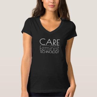 El cuidado es una tecnología feminista camiseta