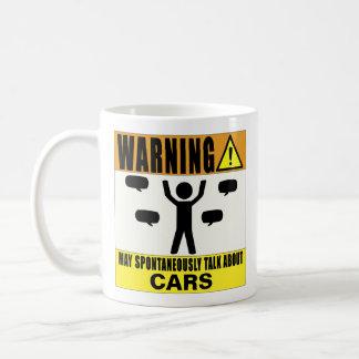 El cuidado puede hablar espontáneamente de la taza