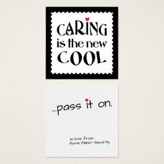 El cuidar es la nueva tarjeta de visita FRESCA del