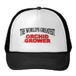 El cultivador más grande de la orquídea del mundo gorras