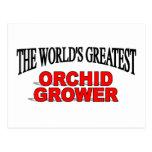 El cultivador más grande de la orquídea del mundo postal