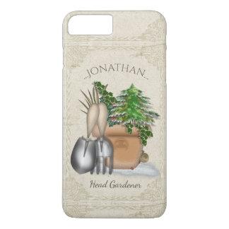 El cultivar un huerto lindo del invierno funda para iPhone 8 plus/7 plus