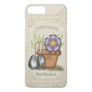 El cultivar un huerto lindo del verano funda para iPhone 8 plus/7 plus