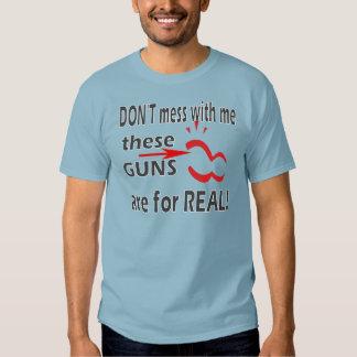 El culturismo muscles humor camiseta