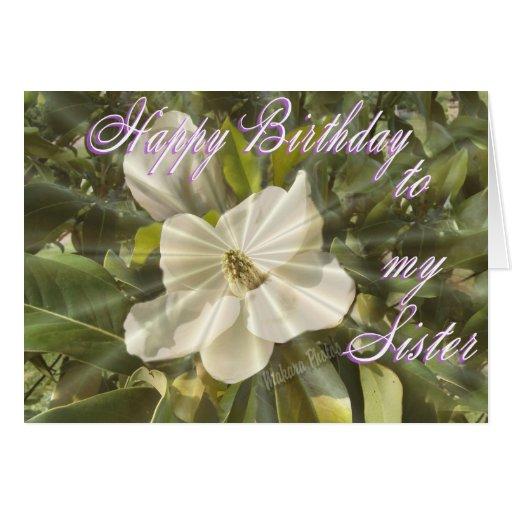 El cumpleaños de la hermana, lo modifica para tarjeton