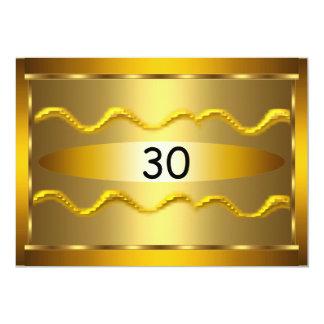 El cumpleaños de los hombres de las mujeres invitación 12,7 x 17,8 cm